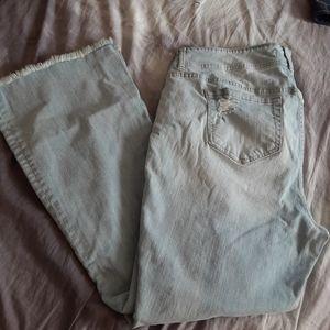 Torrid Jeans Flare Blue Denim Pants Women's 18